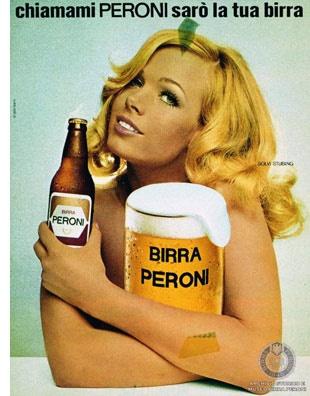 Armando Testa | Campaign for Peroni - 70´s