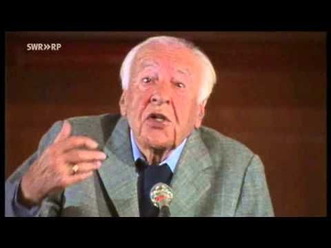 """Hans-Georg Gadamer - """"... und das Verstehen der Welt"""" (Vortrag)"""