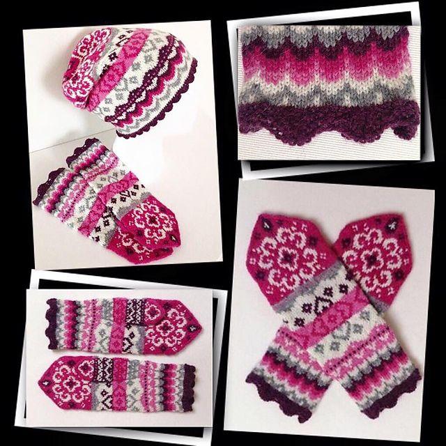 Ravelry: Joyful mittens pattern by JennyPenny