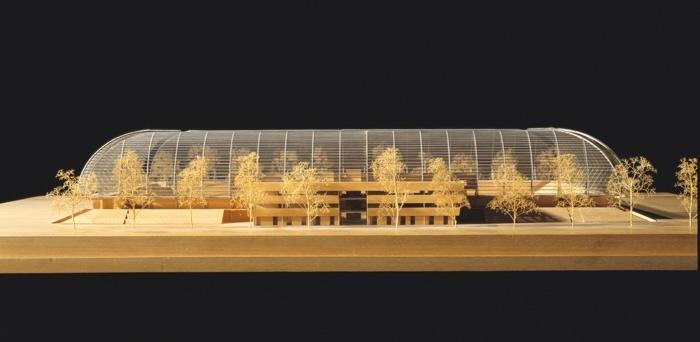 Stade de la Licorne, Amiens, 1996-1999, Philippe Chaix, Jean-Paul Morel, architectes © CAPA / Gaston & Septet