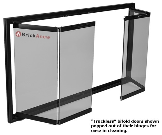 Heatilator Fireplace Doors   Z Door   Glass Doors for Fireplaces