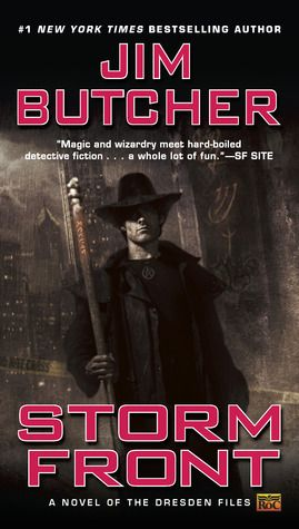 Storm Front, by Jim Butcher. From I'm Just Mad About Harry ( The Dresden Files by Jim Butcher). Click on the cover to read the review by Derek.