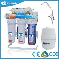 6/7 stages ro water purifier with UV and RO purificador de agua