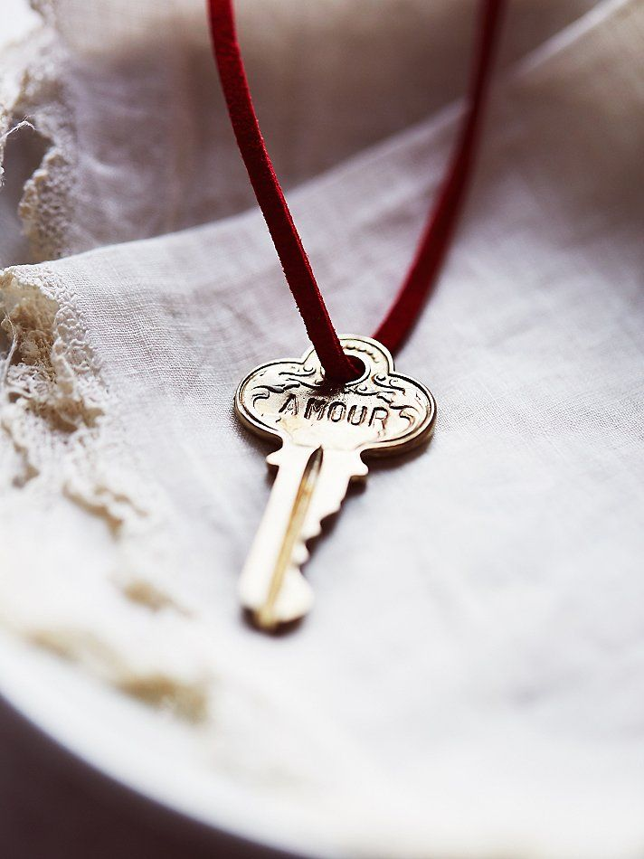 Giving Keys Necklace   Pay it forward in style with The Giving Keys. Once you've embraced the message of this necklace, pass it along to a person you feel needs it more than you. This unique American made style features a hand-engraved key on a suede cord.