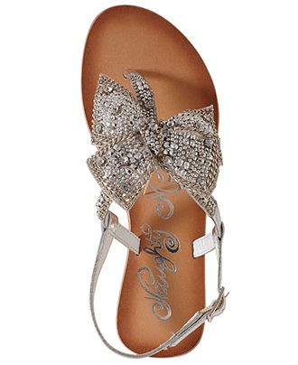 Naughty Monkey Jewel Delight Flat Thong Sandals - Shoes - Macy's