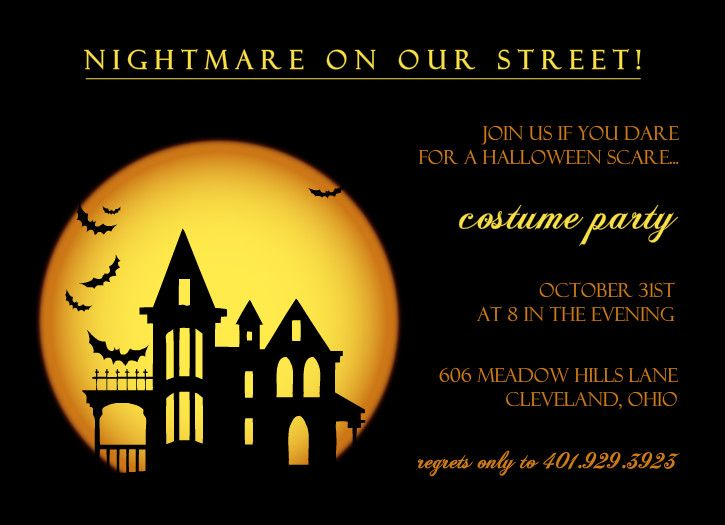 17 best ideas about Adult Halloween Invitations – Halloween Party Invitation Card