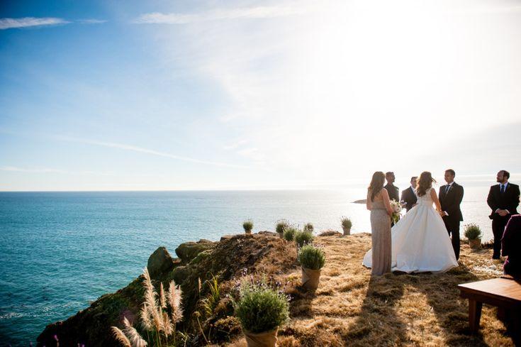 Seaside California Wedding at the Gualala Arts Center