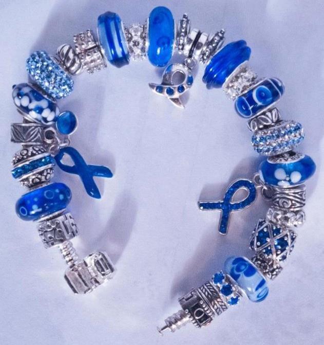 Pandora Charm Bracelet Quot Colon Cancer Support
