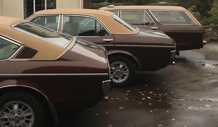Ford Granada Estate, Coupe and Saloon.