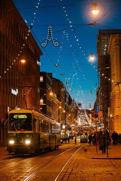 Aleksanterinkatu Christmas Street via helsinki365.com