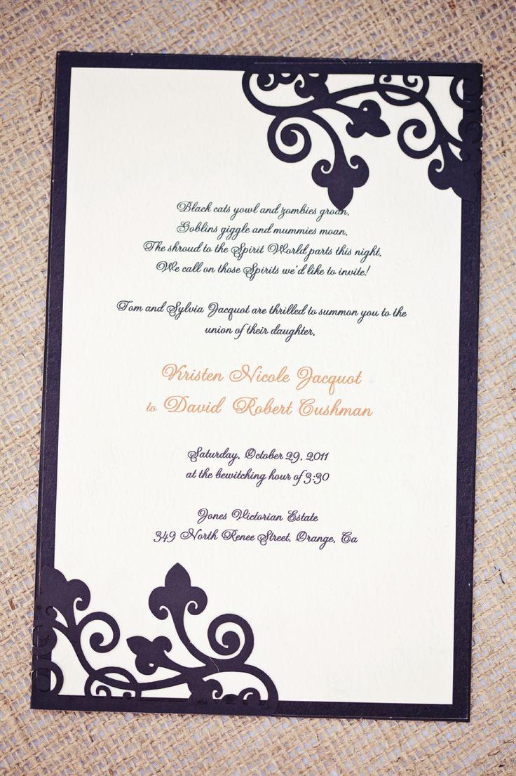 13 best wedding invites images on Pinterest | Weddings, Invitation ...