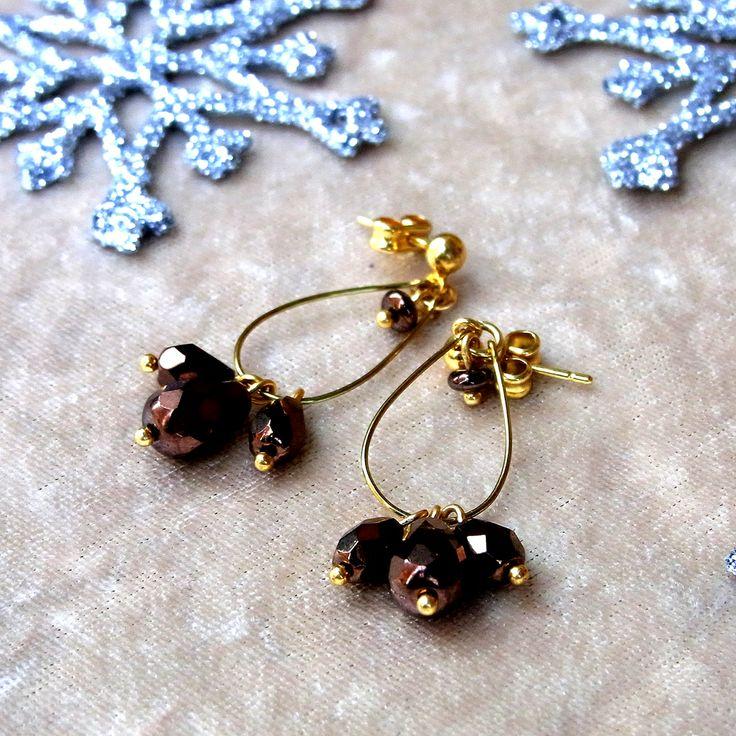 <2337:Malababa SULFATA earrings GLASS BEADS>