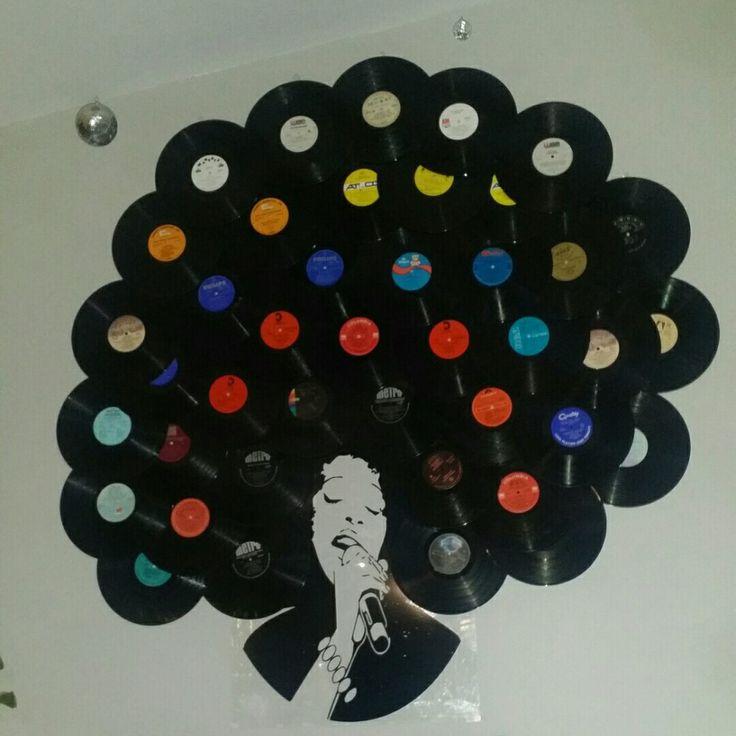 Lauren hill vinyl wall art