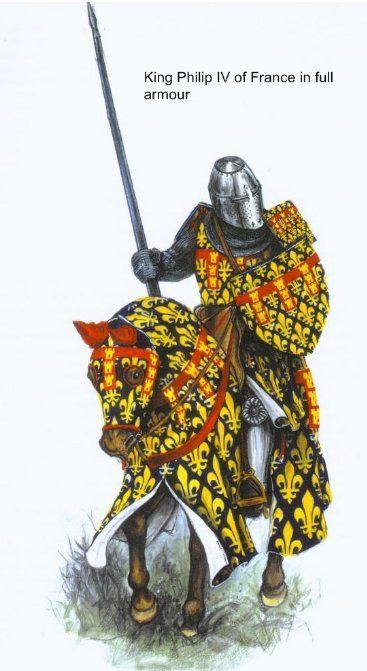 Philip Black King Bedroom Set: King Philip IV (the Treacherous) Of France