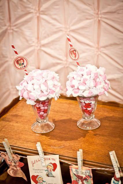 Soda Shoppe Valentine Favors  |  Kara's Party Ideas