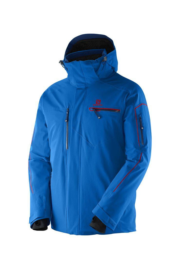 veste ski salomon brillant jacket homme les vestes la. Black Bedroom Furniture Sets. Home Design Ideas