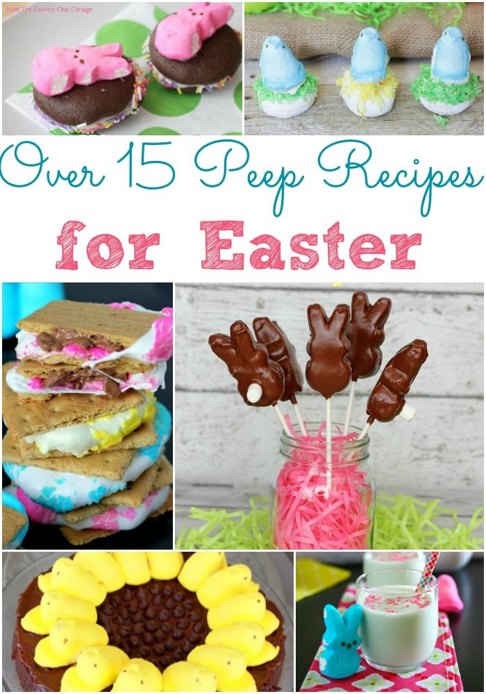 Best peeps recipes ideas on pinterest easter