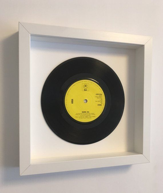 Abba Mamma Mia Framed Vinyl Record The Perfect Mother S Day Gift Framed Records Vinyl Frames Wooden Picture