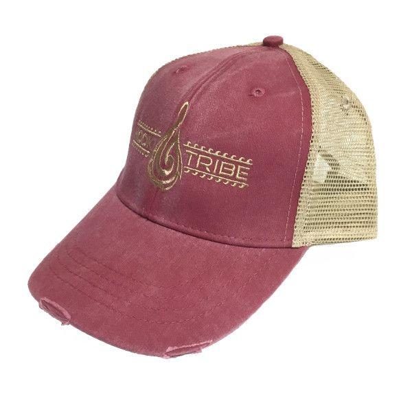 Maori Legends Distressed Trucker Hat