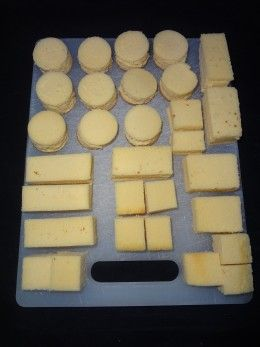 Petits Fours Made Easy, some very good info in this link