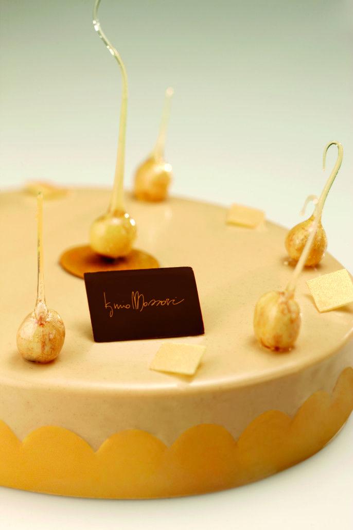 Nocciolina Pan di Spagna alle mandorle Giapponese croccante Crema reale base burro Glassa cremino alle nocciole Nocciole pralinate per decorazione