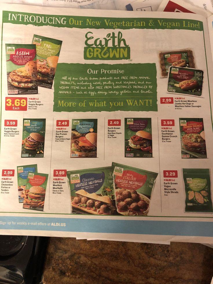 Aldi offering a ton of new vegan options! #vegan #vegetarian #glutenfree #food #GoVegan #organic #healthy #RAW #recipe #health #whatveganseat