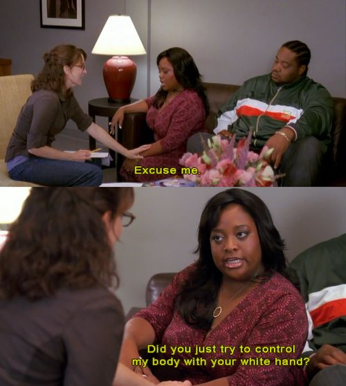 Maybe one of the best quotes from 30 Rock.