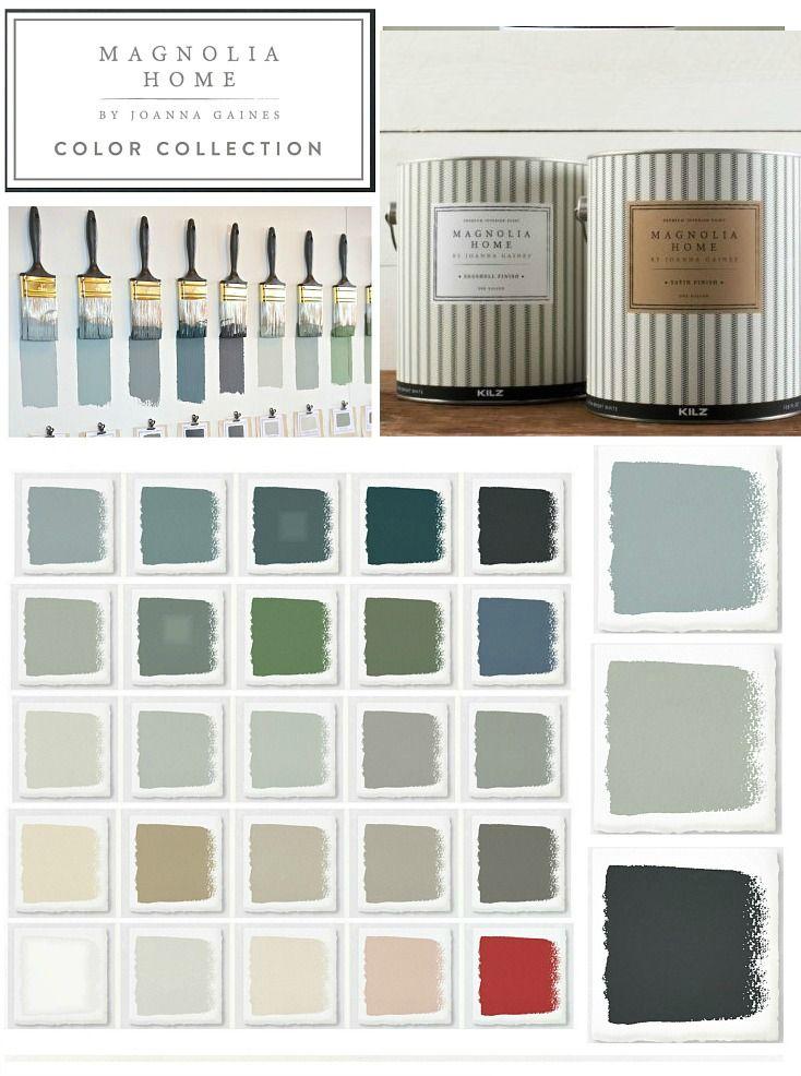 Joanna Gaines 2018 Paint Color Picks Farmhouse Paint Colors