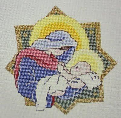 Just Cross Stitch Patterns Free | Everyday Life at Leisure: Christmas Cross Stitch