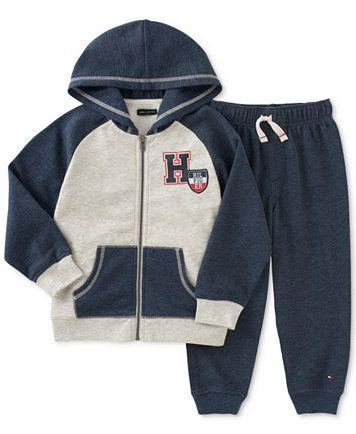Tommy Hilfiger Baby Boys' 2-Pc. Hoodie & Pants Set    macys.com