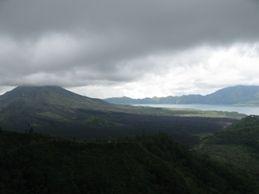 KINTAMANI (volcano and lake batur )