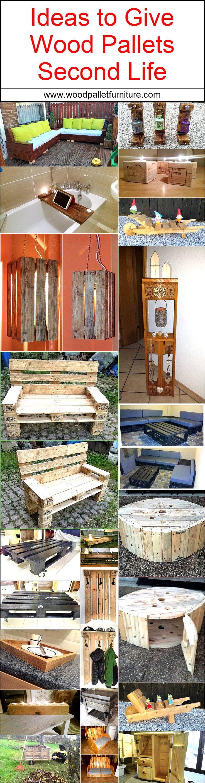Meer dan 1000 ideeën over houten pallets op pinterest   pallet ...
