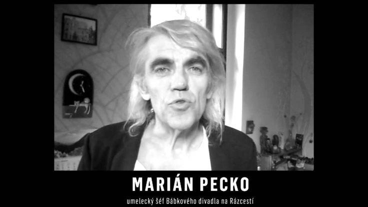 DEŇ BEZ UMENIA_MARIÁN PECKO, umelecký šéf Bábkového divadla na Rázcestí