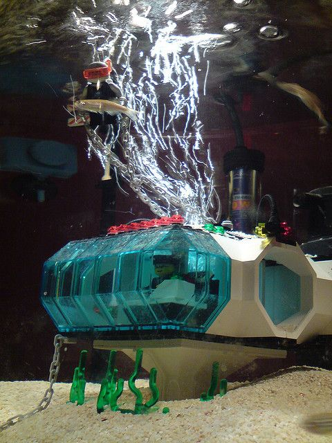 28 best images about lego fish tanks n aquariums on for Star wars fish tank decor