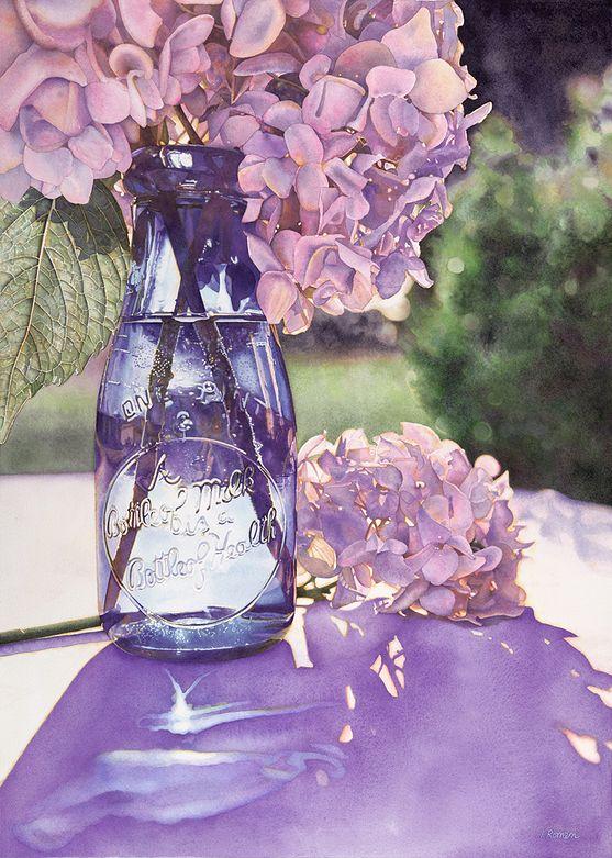 Bottle of Health     2011, watercolor, 23 x 16     Artist:  Irena Roman     irenaroman.com