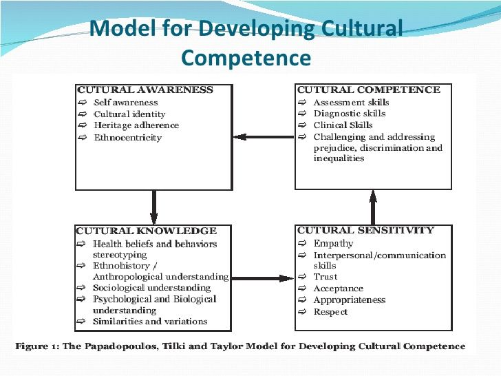 the social competence and the cultural competence Limitations of cultural competence highlighted by social scientists working in  clinical and academic settings largely fall into three categories:.