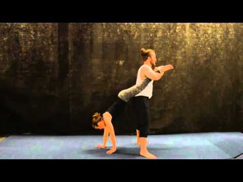Basic partner acrobatics - YouTube