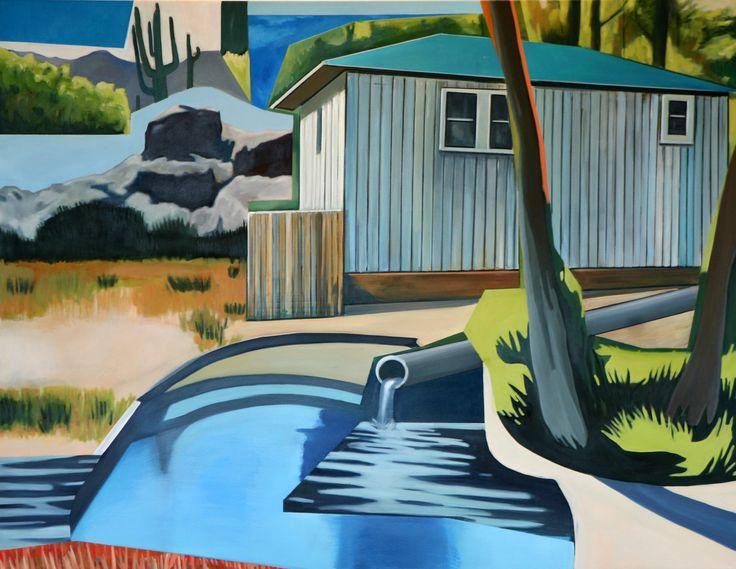 Rudi Cotroneo,  140x180cm Oil on canvas