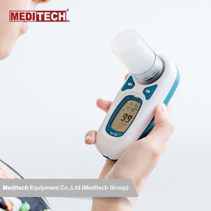 جهاز قياس قدرة الرئتين والتنفس مقياس التنفس الجيب مع تقارير قياس التنفس بالكمبيوتر Alarm Clock Clock Digital Alarm Clock