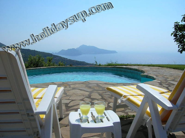 Villa with private pool, Isle of Capri view in Sorrento coast in a quiet position  more details on:  www.holidaysup.com  website
