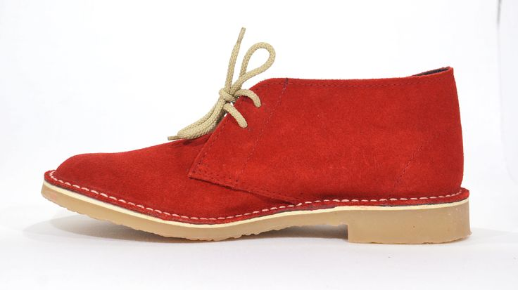 Freestyle (Red Suede )Veldskoen Unisex Handmade Genuine Leather Shoe. R 639  Handcrafted in Cape Town, South Africa. (Available in Various Colours) Code: 142207. See online shopping for sizes.   Shop for Freestyle  online https://thewhatnotshoes.co.za       Free Delivery within South Africa.
