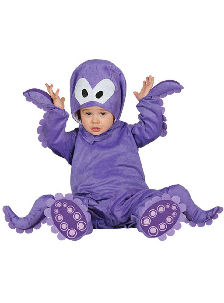Schattige octopus kostuum voor baby