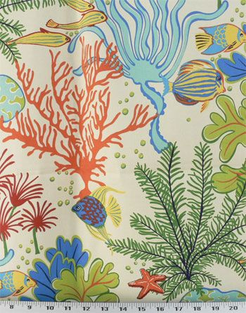 Island Breeze Paramount Atlantic | Online Discount Drapery Fabrics and Upholstery Fabric Superstore!