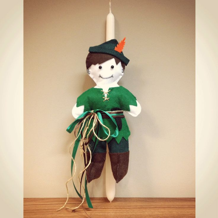 ACCESSORIES | Chryssomally || Art & Fashion Designer - Handmade Easter Peter Pan doll candle