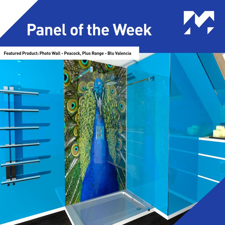 Panel of the Week! This week our featured #paneloftheweek is our High Gloss, Blu Valencia panel, part of our Plus Range.