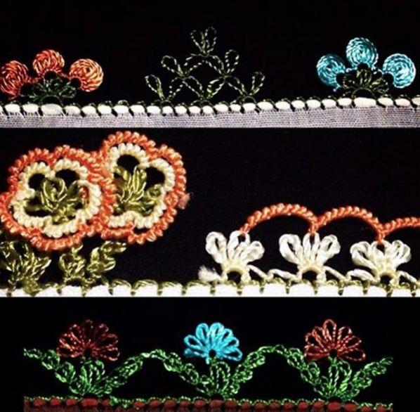 Beautiful Turkish lace patterns...