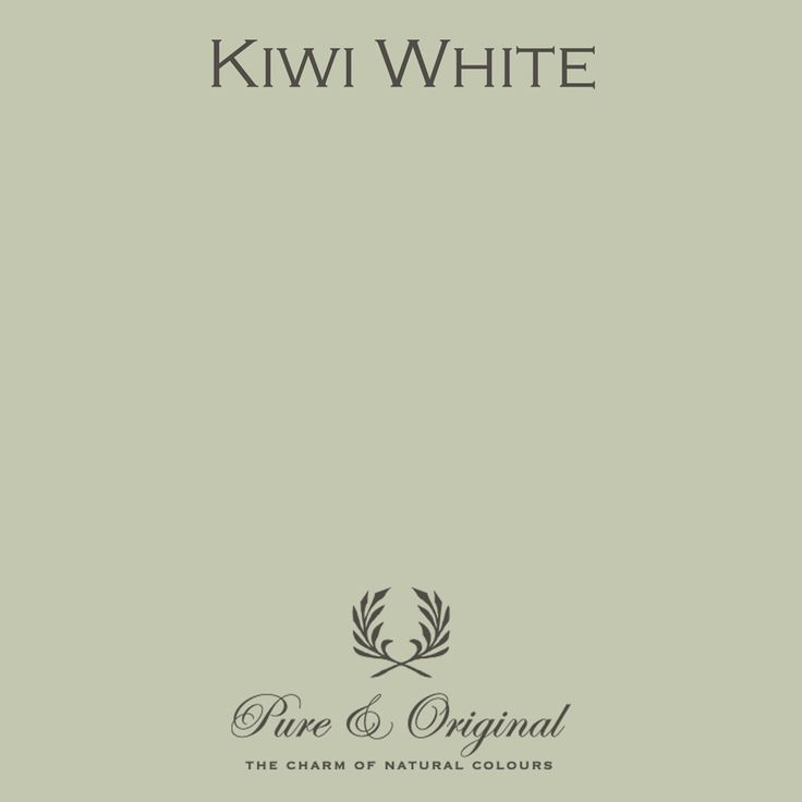 Kiwi White - Pure & Original - Paint