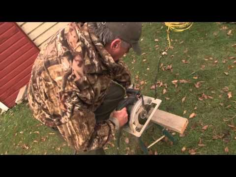 Duck Hunting DIY marsh seat - Wide Open Spaces