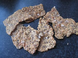 Fröknäckebröd med rågmjöl