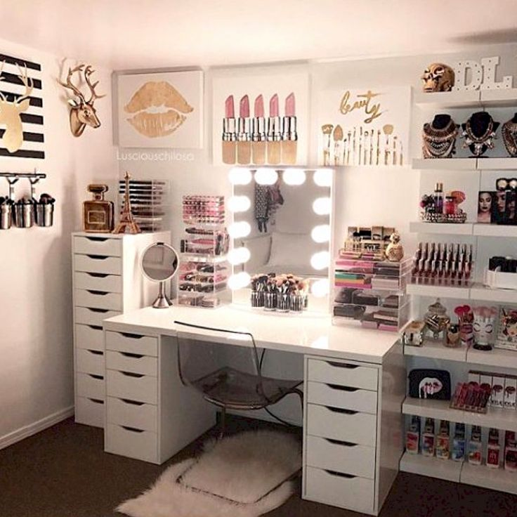 CLICK TO DOWNLOAD Your Beauty Room & Makeup Collection Checklist To #GLAM Your B…